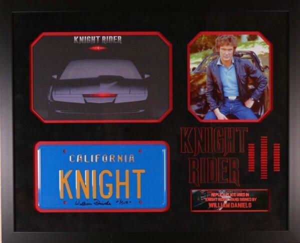 Knight Rider License Plate