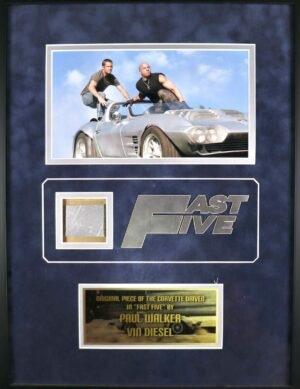 Fast and Furious 5 Corvette piece