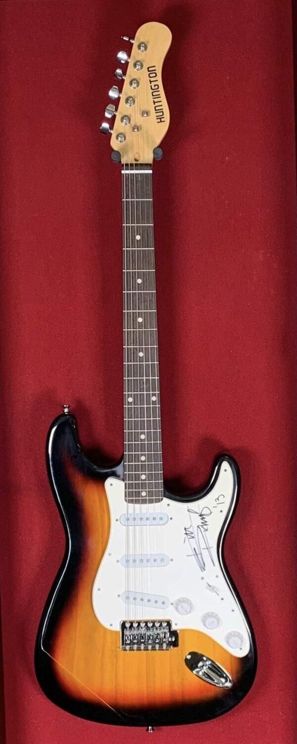 Keith Richards Tobacco Sunburst Guitar