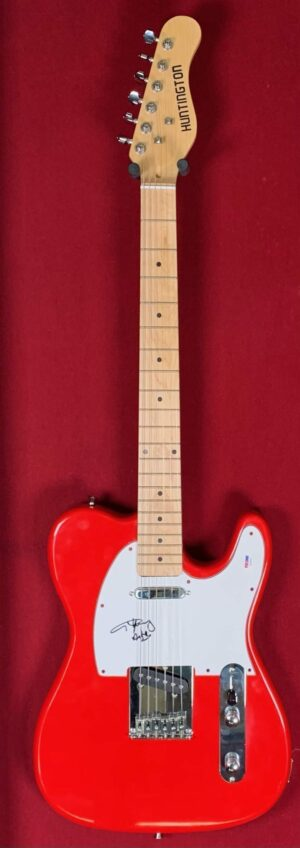Angus Young Red Guitar