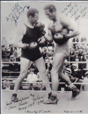 Jack Dempsey and Max Baer Sr.