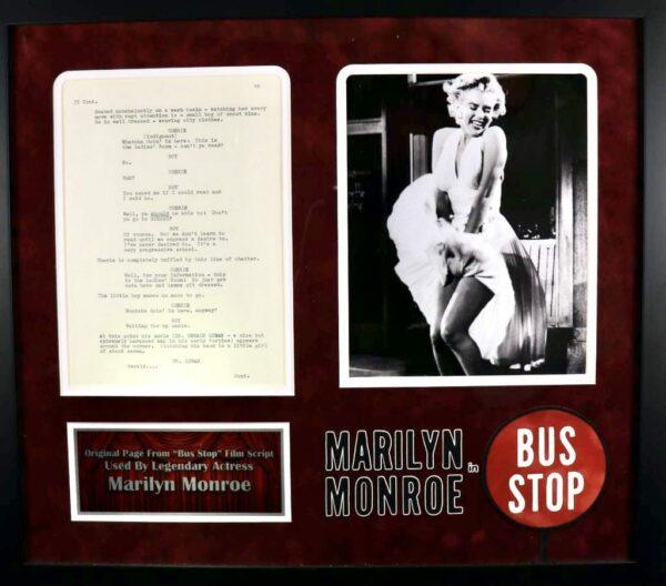 Marilyn Monroe Script
