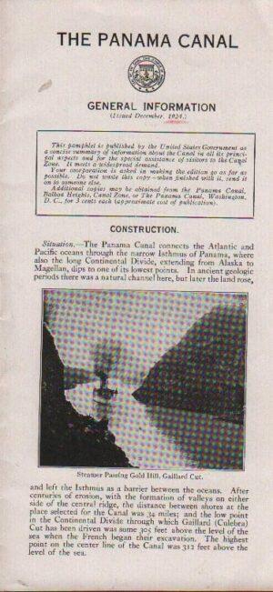 The Panama Canal Brochure