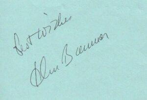 John Banner Signature